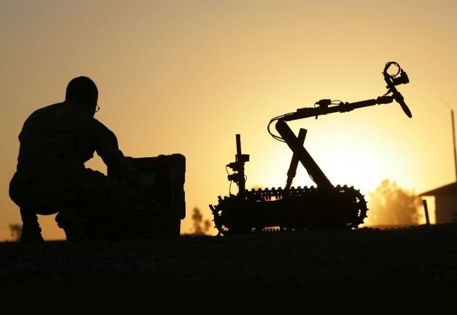 One in 50 Troops in Afghanistan Is a Robot