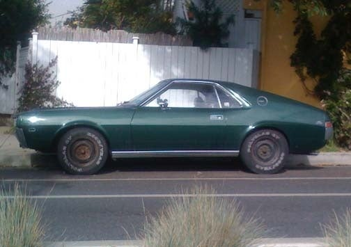 Another California AMX Back On The Street!