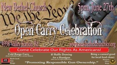 PR Awesomeness: Louisville Church Inviting Gun Owners To Bring Guns To Church.