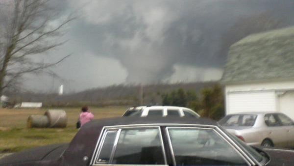 Today's Terrifying And Historic Tornadoes Up Close