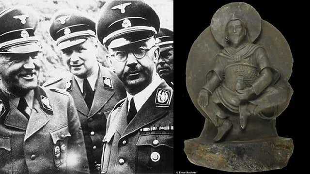 Why were the Nazis so interested in a statue carved from a meteorite?
