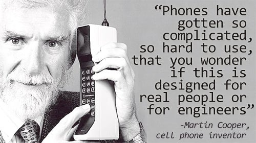Father of Cell Phones Worried His Kids Are Becoming Too Much To Handle