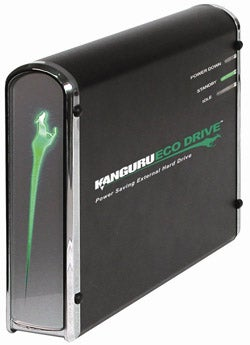 Kanguru's Eco Drive is the World's Most Energy Efficient External Hard Drive