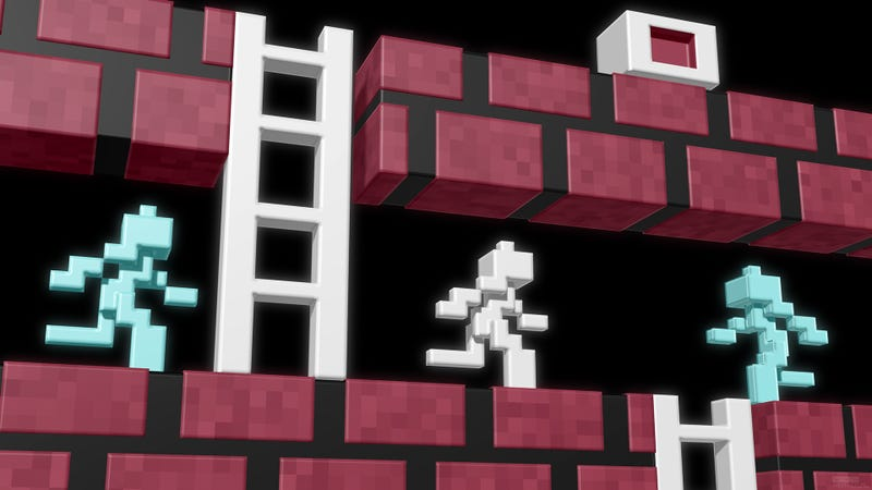 Wallpaper Roundup: Retro Video Games as Awesome 3D Pixel Art
