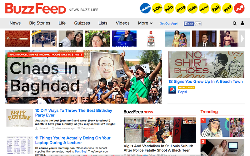 Here's What BuzzFeed's New Investors Really Think About Media