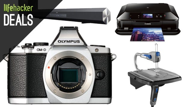Olympus Mirrorless Gear, Wireless Printer, Dremel, Android Flash Drive
