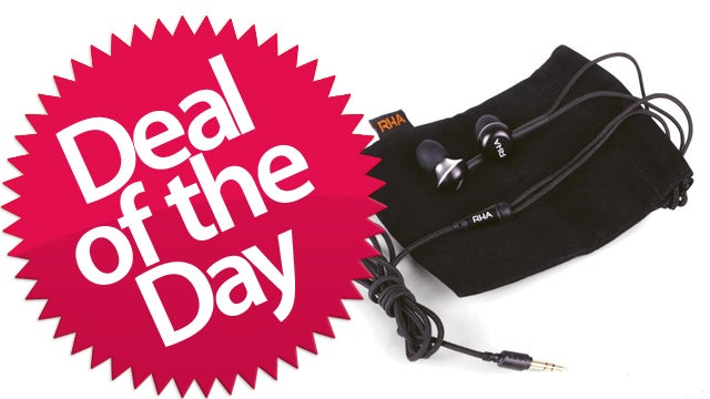 These RHA Earphones Are Your Dealzmodo-Exclusive Deal of the Day