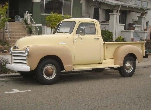 1952 Chevrolet Pickup Down On The Alameda Street