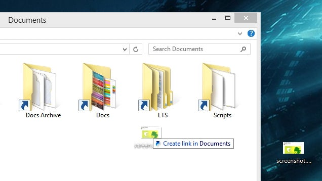 Copy, Move, and Create Shortcuts in Windows With Drag-and-Drop
