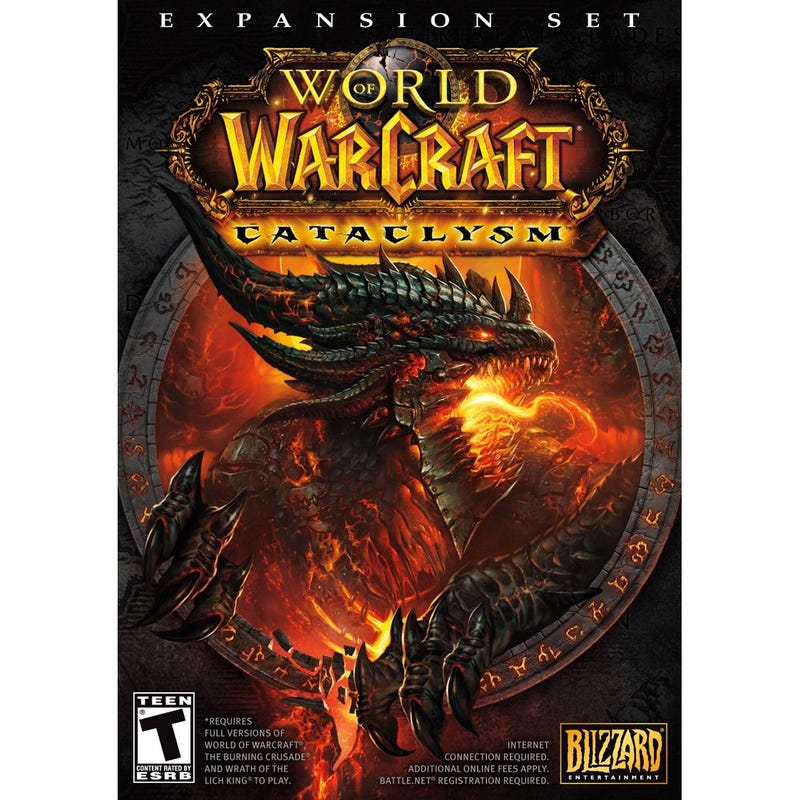 Amazon Pegs World Of Warcraft: Cataclysm Release For Early 2011