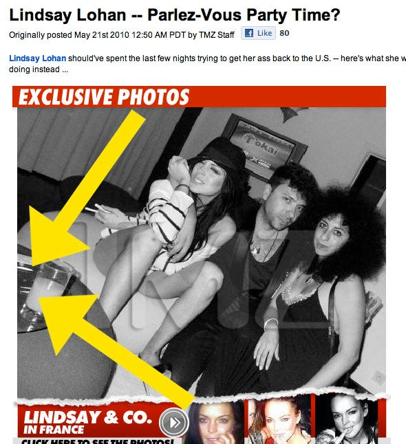 Was Lindsay Lohan Partying with Cocaine When She Was Supposed to be in Court?