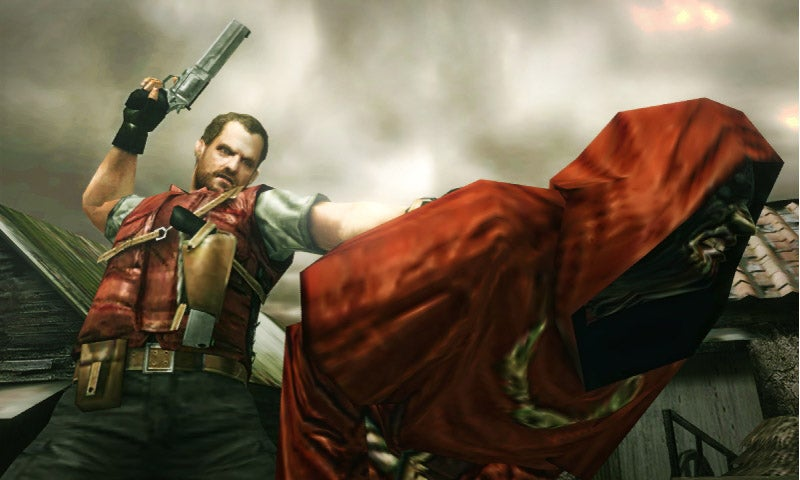 Let's Hope Barry Doesn't Get Blackmailed in Resident Evil: The Mercenaries 3D