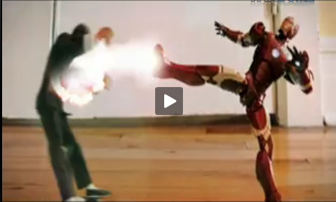 Iron Man vs Bruce Lee: FIGHT!