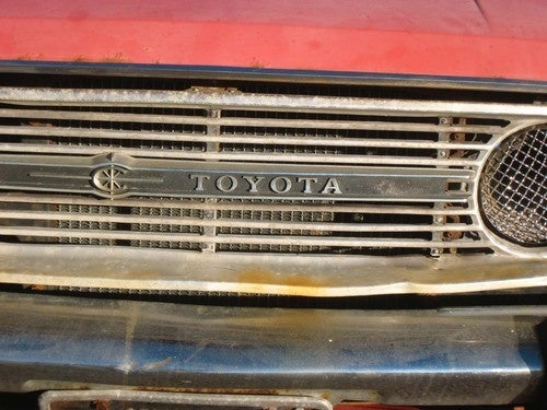 1969 Toyota Corona Down On The East Oakland Street