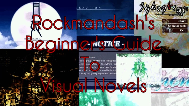 Rockmandash's Beginner's Guide To Visual Novels