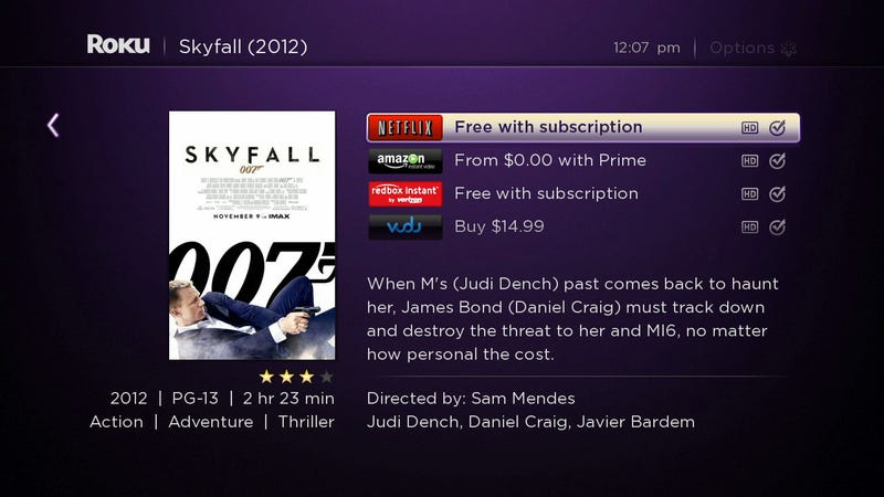 Roku Brings Its Awesome Universal Search to Android and iOS