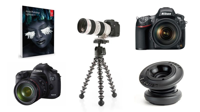 Gifts for the DSLR-Slinging Photo Artiste