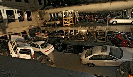 Atlanta Parking Garage Collapse Carnage Mega-Gallery
