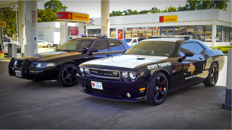 This Is The Texas Highway Patrol's Monster New Cop Car