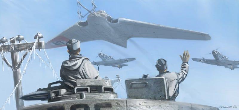 Astonishing new concept art of Panzer 88's Nazi-fighting monster