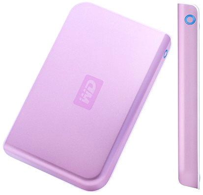 Like Breasts? Get a 250GB Pink WD Passport Drive to Celebrate
