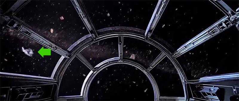 Los 10 errores de las pel culas de star wars for Interior halcon milenario