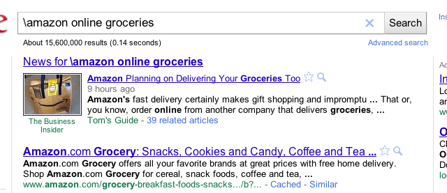 Get Around Chrome Custom Search Engines with a Backslash