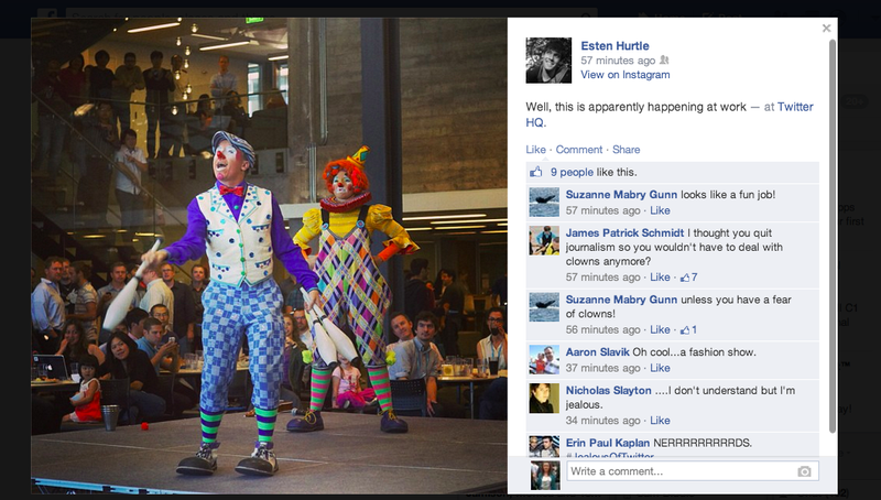 Meanwhile, at Twitter HQ, Some Juggling Clowns