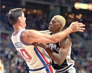 "Dennis Rodman: ""Bill Laimbeer Wasn't A Dick"""