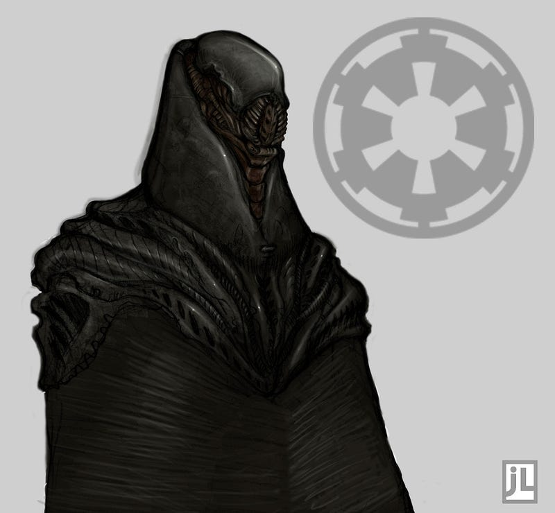 Artists redesign Darth Vader with only George Lucas' original script as a guide