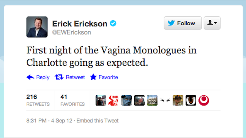 CNN's Resident Conservative Jackass Calls the DNC 'The Vagina Monologues'