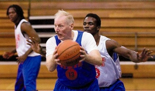 Septuagenarian Shooting Guard Suits Up For College Hoops Team