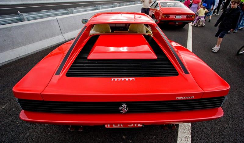 Lucille Ball Would Drive A Ferrari Testarossa