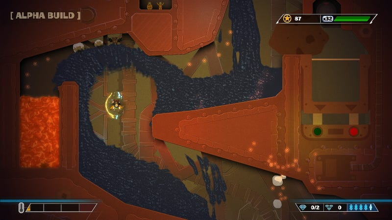 The PS4 Gets The Ultimate Version Of PixelJunk Shooter
