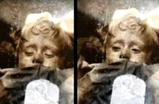 Why Does This Mummy Appear To Open And Close Her Eyes?