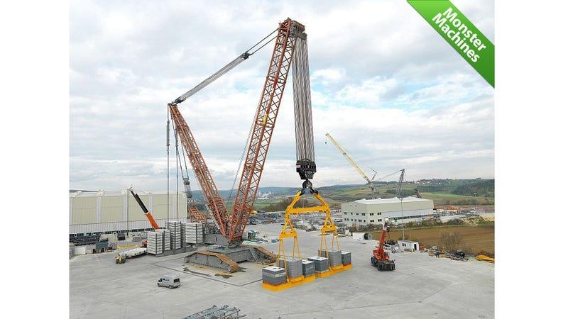 World's Strongest Crawler Crane Can Raise the Roof—off a Stadium