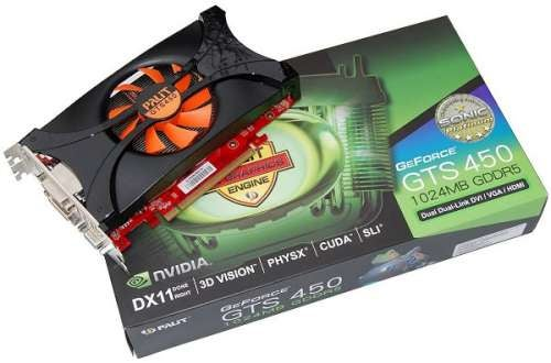 Nvidia GeForce GTS 450, GeForce GTS 450 SLI and Palit GTS 450 Sonic Platinum Review