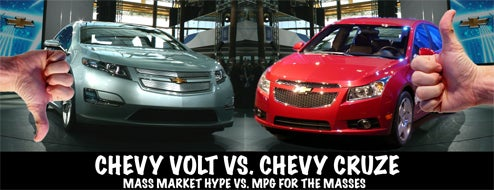 The Chevy Volt Won't Save GM, But The Chevy Cruze Might