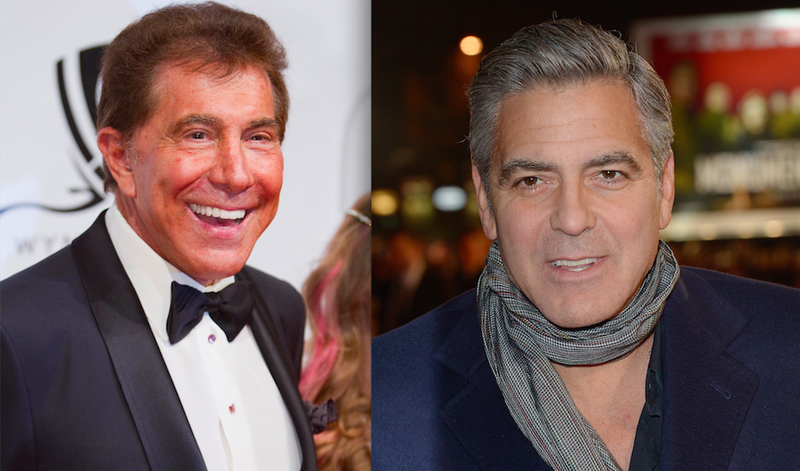 George Clooney and Steve Wynn Got in a Big Drunk Fight in Las Vegas