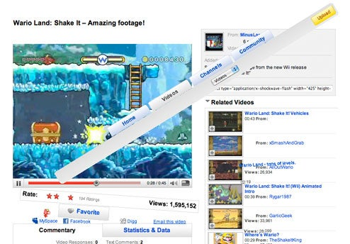 Wii ad's HTML tricks more fun than the new Facebook