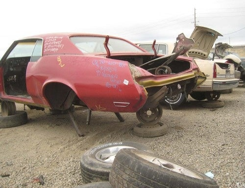 1972 Oldsmobile Cutlass Supreme Down On The Junkyard
