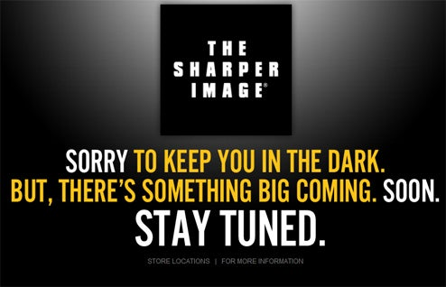 "The Sharper Image Lives, Says ""There's Something Big Coming"": What Is It?"