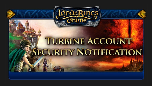 Lord of the Rings Online's Forums Might Have Been Hacked