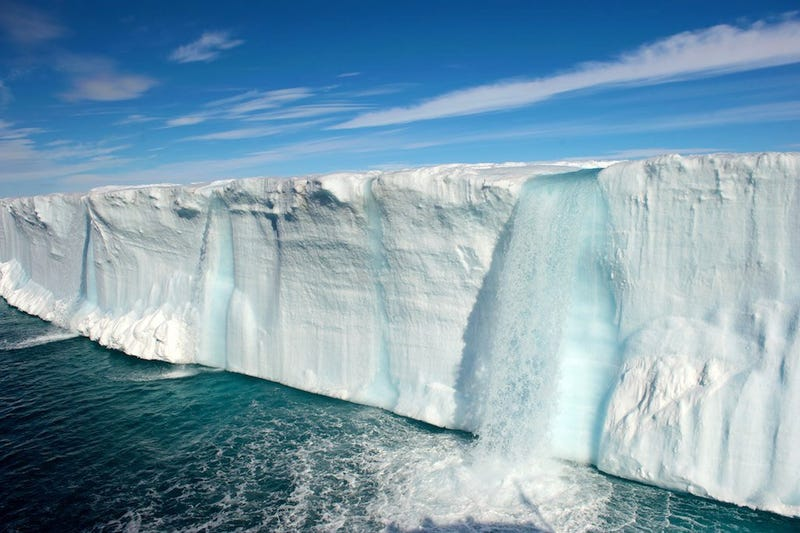 These Beautiful Waterfalls Are Made Entirely of Ice