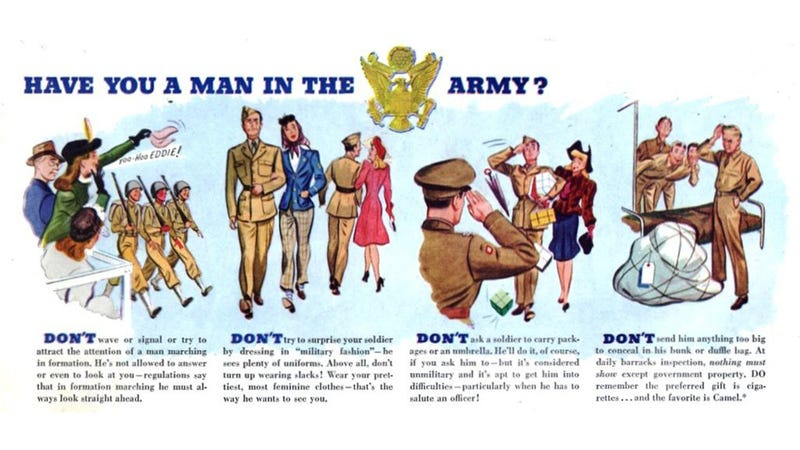 Have You a Man In the Army?