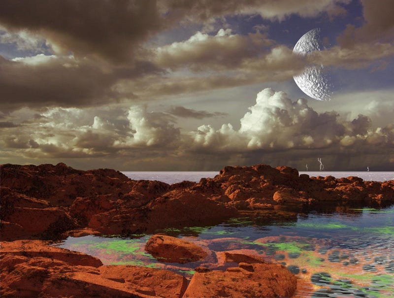 """Gorgeous concept art of newly-discovered """"Earth 2.0"""" planet"""