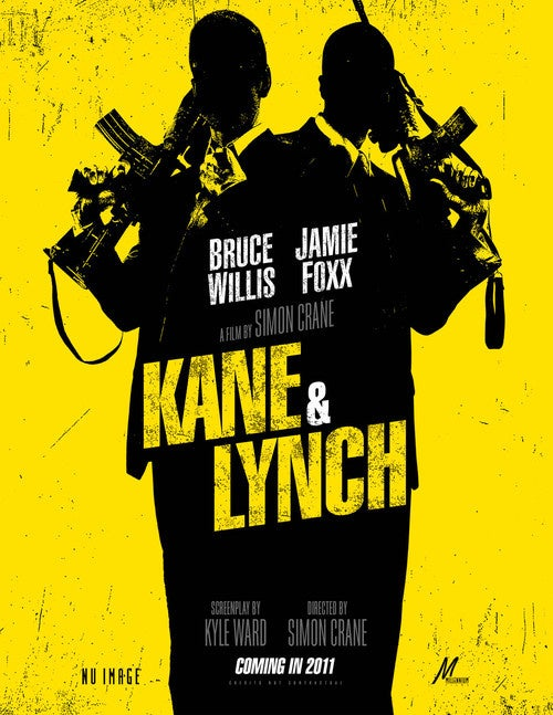 How About A Kane And Lynch Movie Poster? A Comic Book?