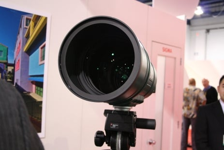 The Most Massive Lens at PMA 2008