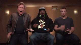 Marshawn Lynch Can't Handle <i>Mortal Kombat X</i>'s Fatalit