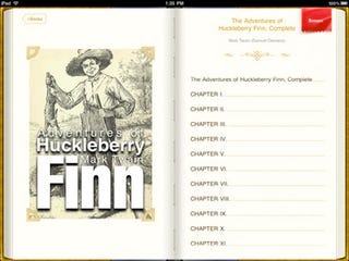 VBookz For iPad: A Text-To-Speech Reader For Public Domain Classics
